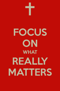 focus-on-what-really-matters